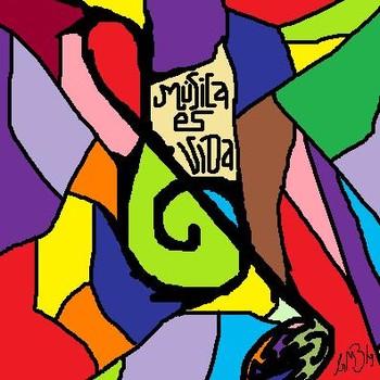 Free Música es Vida.jpg phone wallpaper by gennymzg1012