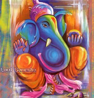 Free Colourful Ganesha.jpg phone wallpaper by vishindia01