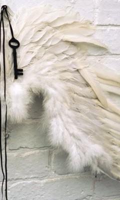 Free Wings & Key.jpg phone wallpaper by biancahypnotic