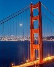 Free Golden Gate Bridge phone wallpaper by discoroux