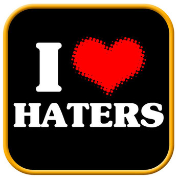 Free haters.jpg phone wallpaper by mops801