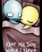 Keep me Safe wallpaper 1
