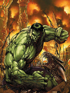 Free Incredible Hulk phone wallpaper by cowboyfromhell