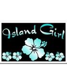 Island Girl wallpaper 1