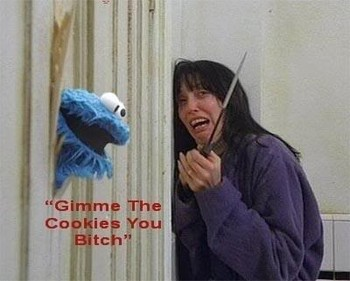 Free cookie-monster-gimme-the-cookies.jpg phone wallpaper by cassieroxz1298