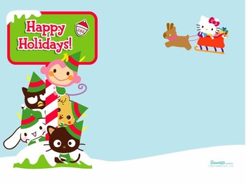 Free hello-kitty-and-christmas-wallpapers_1024x768.jpg phone wallpaper by sweden389