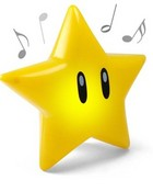 super_mario_singing_glow_star.jpg wallpaper 1