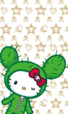 Free Hello_Kitty_Cactus.jpg phone wallpaper by diordoll