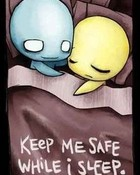 Keep me safe wallpaper 1