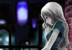 Free Sad Anime Girl phone wallpaper by kissmegoodbye