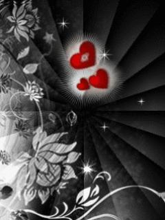 Free Dark Hearts.jpg.jpg phone wallpaper by roxannegg