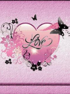 Free pinkheartlove.jpg.jpg phone wallpaper by roxannegg