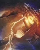 bible and prayn hands.jpg wallpaper 1