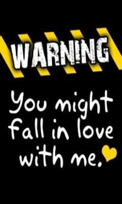 Free Warning.jpg phone wallpaper by missemily
