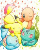 Remember___Kanto_starters_by_MiharuStar.jpg wallpaper 1