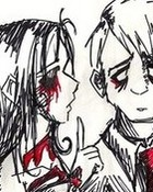 emo love couple