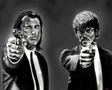 Free pulp fiction phone wallpaper by guicho7777