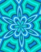Neon Aqua Kaleidoscope.jpg wallpaper 1