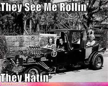 Free the-munsters-they-see-me-rollin-they-hatin.jpg phone wallpaper by jonnybravo