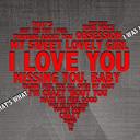 Free love-u-heart phone wallpaper by yadi17