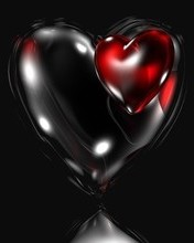 Free black heart.jpg phone wallpaper by linkinpark86
