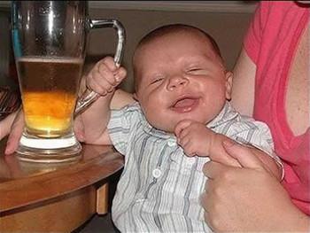 Free funny-baby-beer-drunk.jpg phone wallpaper by jonnybravo
