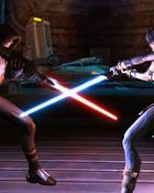 Sith Jedi Fight wallpaper 1