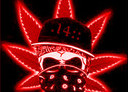Free 14 Skull Bud leaf Red phone wallpaper by bamzlilsk8erdork