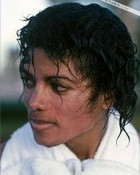 MJJ with wet hair.jpg wallpaper 1