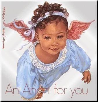 Free baby angel.jpg phone wallpaper by dootazmama