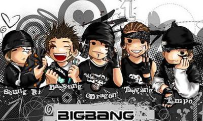 Free BigBang toonies.jpg phone wallpaper by naninani89