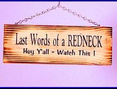 Free last words of a redneck phone wallpaper by navybaby7901