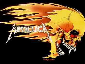 Free metallica-skull-flames.jpg phone wallpaper by jonnybravo