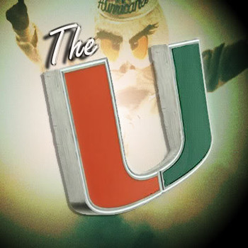 Free Miami Hurricanes The U w/smoke & Sebastian phone wallpaper by chucksta