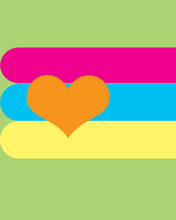 Free heart and small stripes.jpg phone wallpaper by janaenae