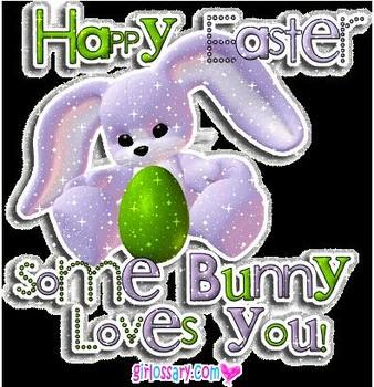 Free cute happy easter bunny phone wallpaper by lolipopliker