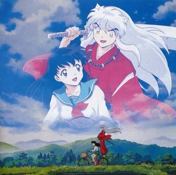 Free Inuyasha y kagome phone wallpaper by lovepink01