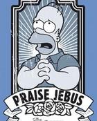lgfp1936+praise-jebus-the-simpsons-movie-poster.jpg wallpaper 1