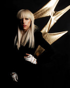 Lady GaGa lightning wallpaper 1