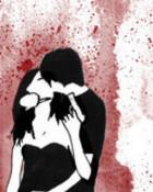 emo_kiss wallpaper 1