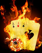Burning Aces wallpaper 1