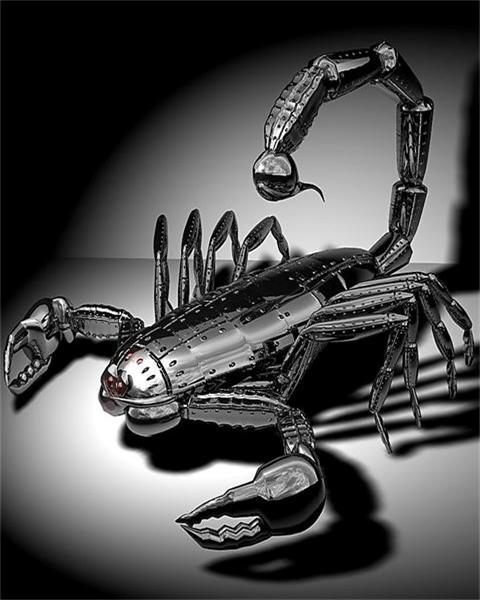 Free Scorpion Robot phone wallpaper by dan_2