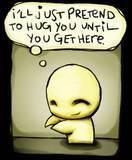 Free pretend to hug u phone wallpaper by ilovemydog