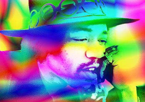 Free jimi-hendrix-psychedelic.jpg phone wallpaper by steelersfan9412