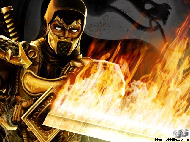 Free Mortal Kombat - Scorpion.jpg phone wallpaper by untone420