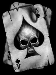 Free Ace & Skull phone wallpaper by carmen