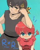 Ryoga and Ranma-chan