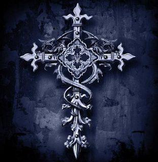 Free gothic-cross-pray-faith.jpg phone wallpaper by darcie