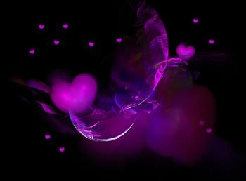 Free 2495537-3-purple-hearts.jpg phone wallpaper by latisha704