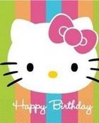 hello kitty happy birthday